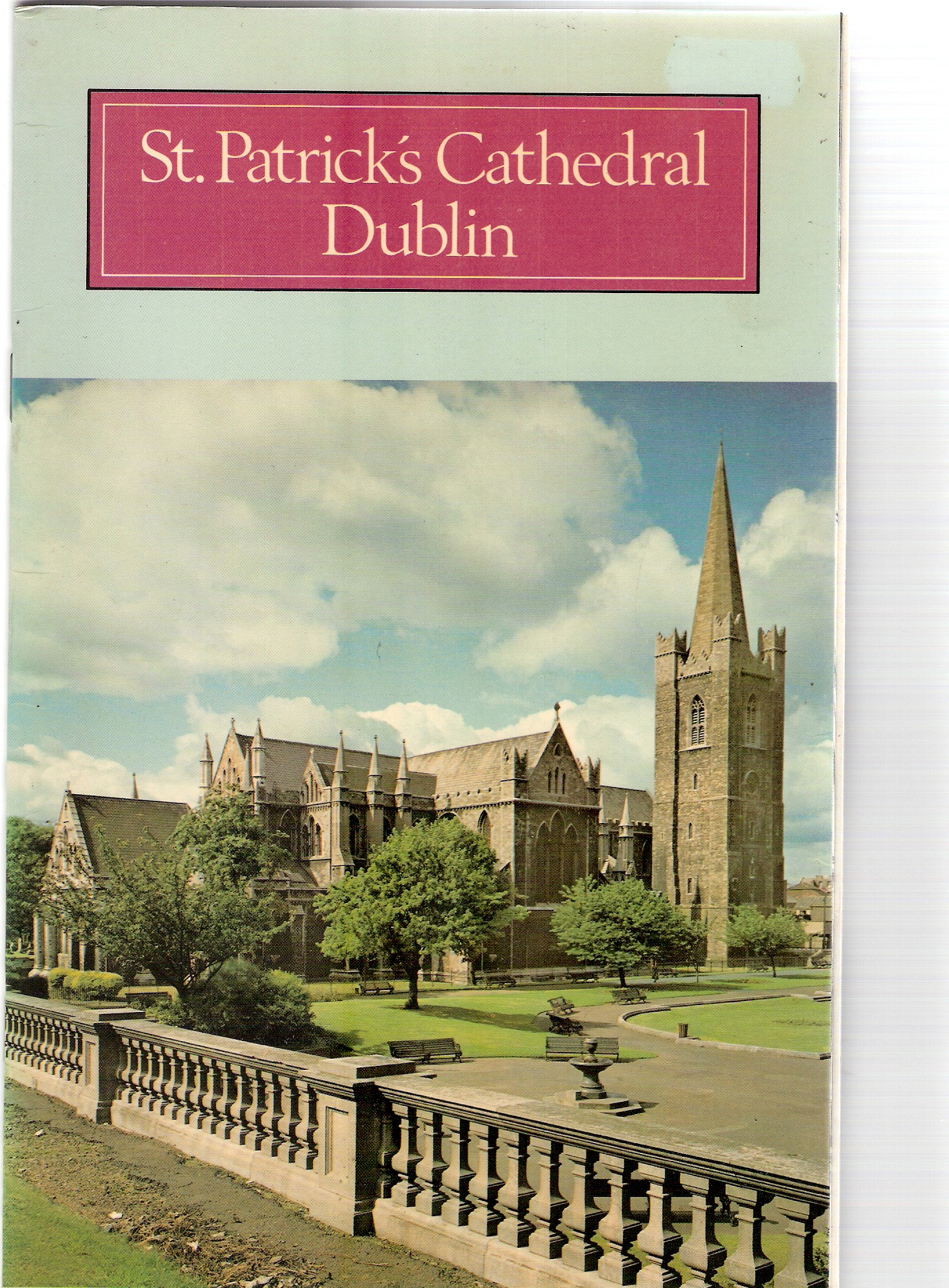 Image for St Patrick's Cathedral Dublin.The Irish Heritage Series :9