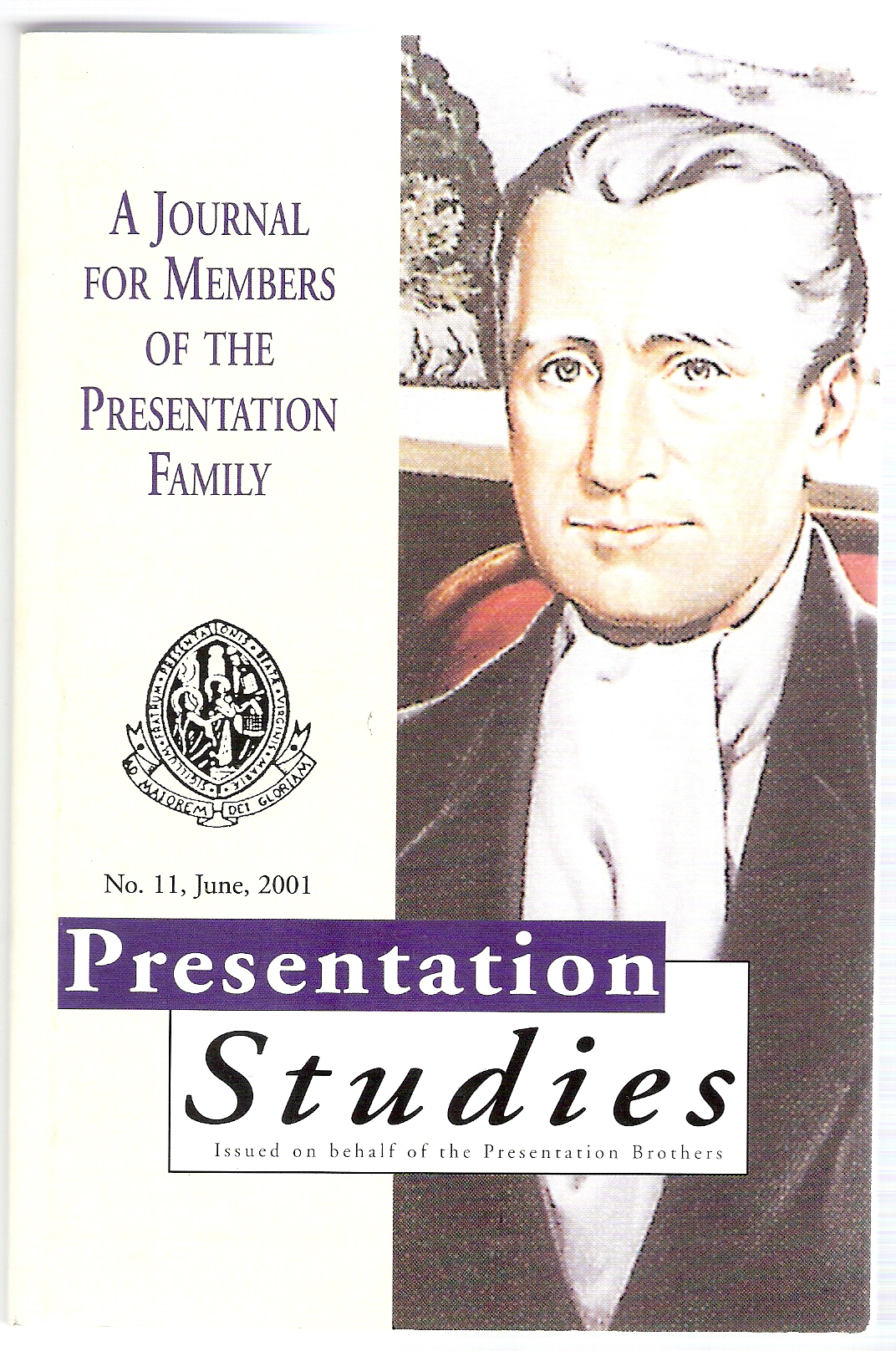 Image for Presentation Studies. a Journal for Members of the Presentation Family. No 11 June 2001